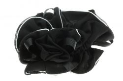 Black Decorative Scrunchies