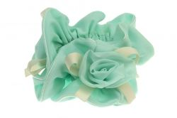MInt Decorative Scrunchies
