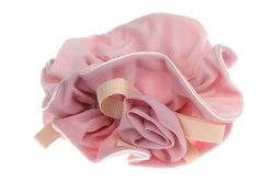 Pink Decorative Scrunchies