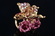 Small Luxury metal claw - Pink