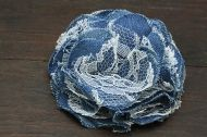 Denim  Brooche