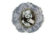 Luxury Denim  Brooche