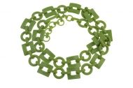 Green Plastic Necklace