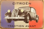Ретро табела Citroen Traction Avant