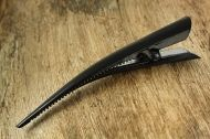 Black Metal Crocodile Hair Clip