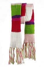 Knitted scarf -Multicolour