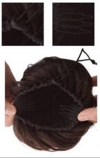 Hairpiece Hair Bun Clip In