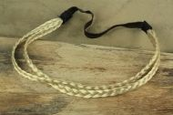 Elastic headband -hair braid two row